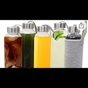 Other - 18oz-Glass Bottles-Carrying Loop-Protective Sleeve